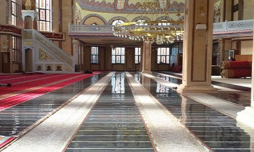 Camii Halı Altı Elektrikli Isıtma